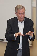 Bruce Babbitt visits WFU Law