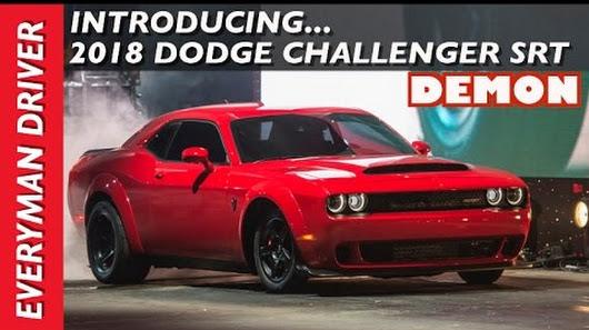 world s fastest 0 60 production car 2018 dodge challenger srt demon everyma. Black Bedroom Furniture Sets. Home Design Ideas