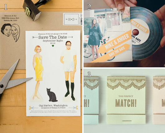 Creative and Cute 'Save The Date' Ideas For Your Wedding