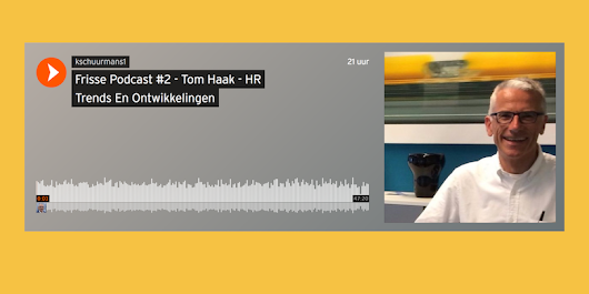 Fresh Podcast #2: Interview with Tom Haak | HR Trend Institute