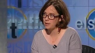 """Eulàlia Reguant, diputada de la CUP, entrevistada aquest divendres a """"Els matins"""" de TV3"""