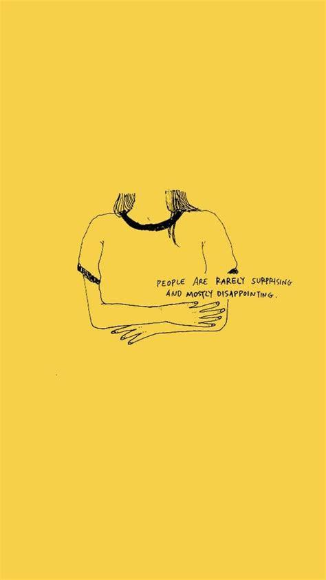 top  aesthetic wallpaper yellow quotes wallpaper