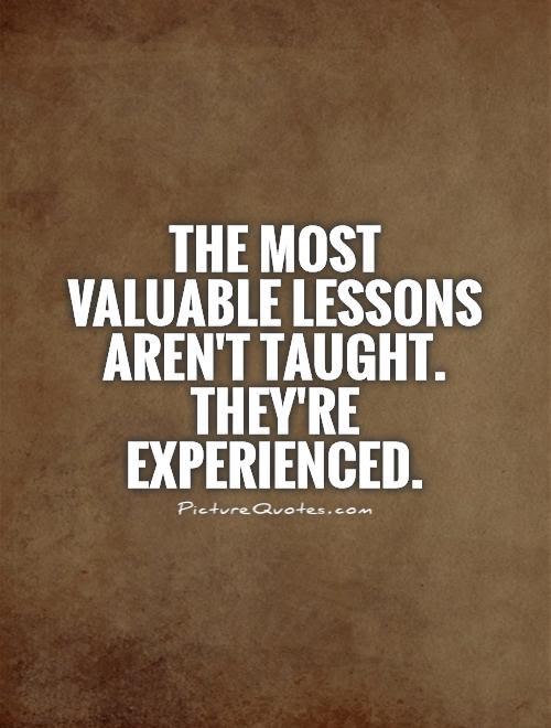 Lessons Learned Marginalia
