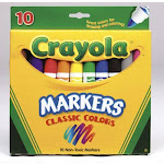 Crayola 58-7722 Classic Colors Markers