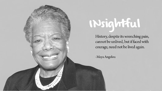 My Favourite Poets & Their Poems: Maya Angelou