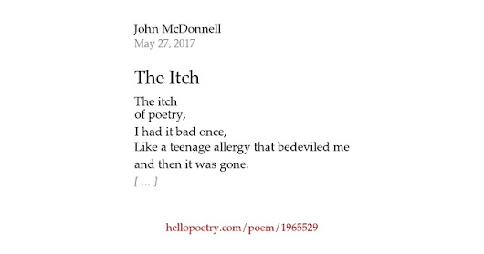 The Itch by John McDonnell