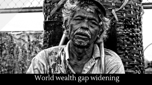 World wealth gap widening - Alltop Viral