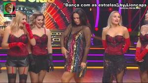 Kelly Bailey sensual no programa Dança com as estrelas
