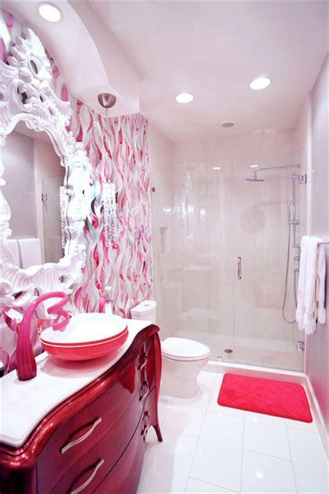 teen girls bath  bedroom san antonio tx contemporary