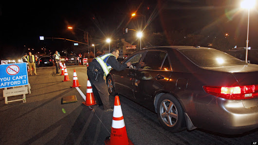 DUI Checkpoint Scheduled In Santa Monica - Canyon News