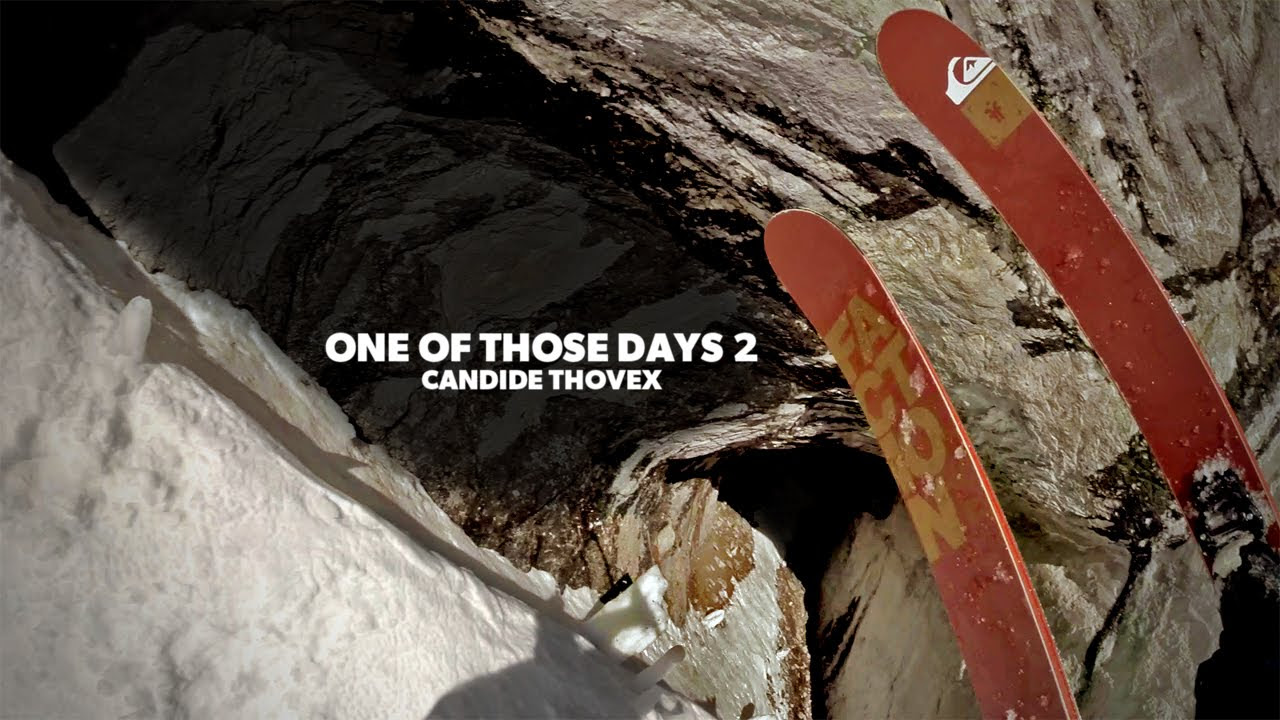 Arguably the best skier in the world, CANDIDE THOVEX!