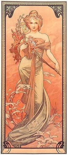 Alphonse Marie Mucha-Printems
