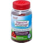 Digestive Advantage Probiotic Digestive Health Supplement, Strawberry, Gummies - 60 count