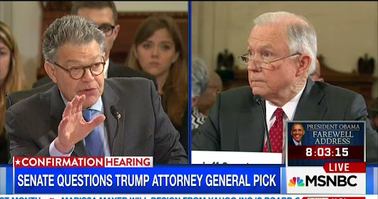 Franken catches Sessions lying about his civil rights record
