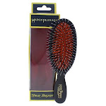 Mason Pearson Pocket Bristle & Nylon Hair Brush (BN4) - Dark Ruby