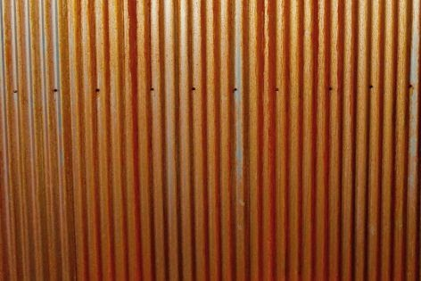 Diy Slate Roof Corrugated Corten Steel