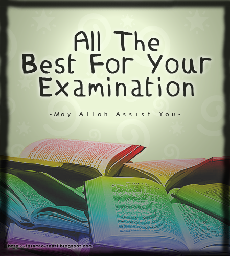 Beautiful All The Best Exam Images