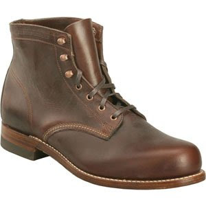 Men's Wolverine 1000 Mile Original Boots BROWN 14 D