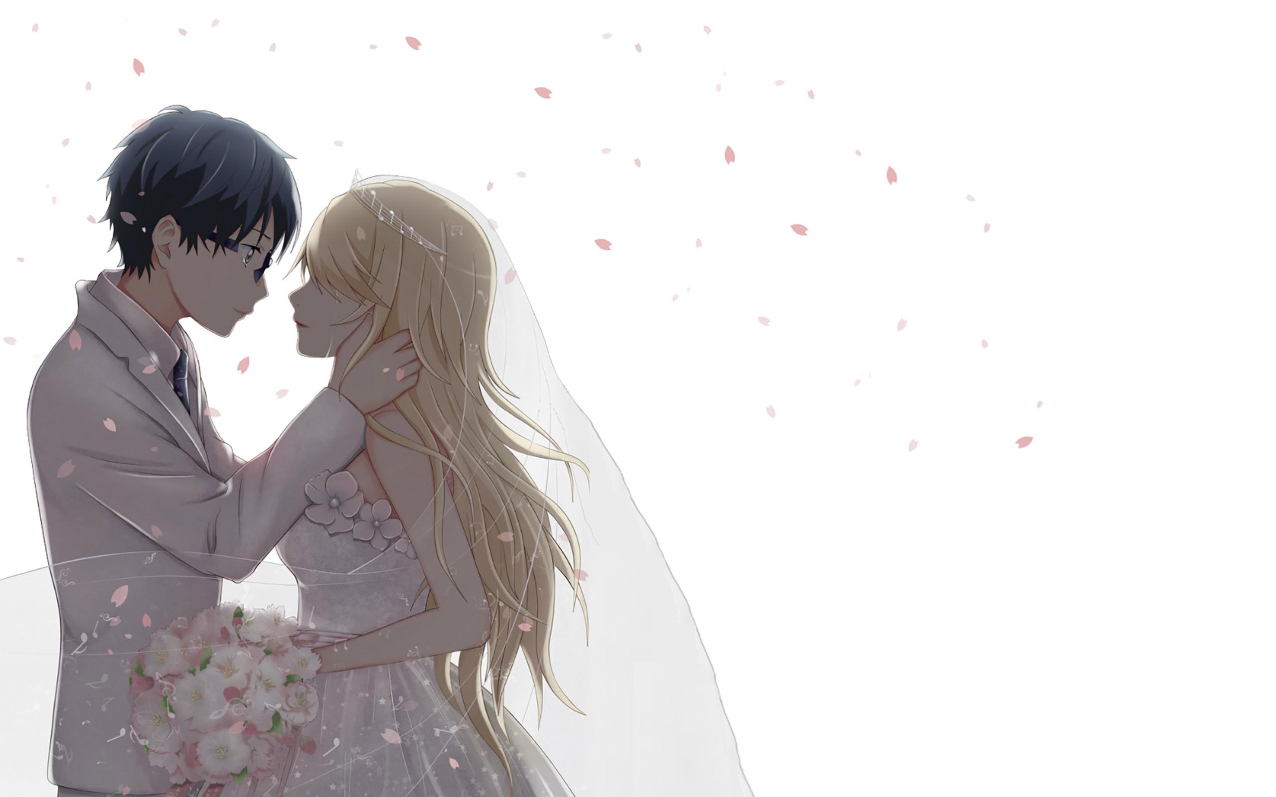Cute Anime Couple HD Wallpapers   PixelsTalk.Net