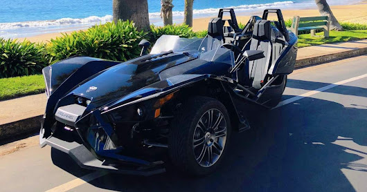 Take a trip in Luis's Polaris Slingshot