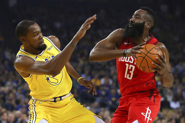 4279e9e7212 Kevin Durant doesn t think James Harden is  cheating  basketball