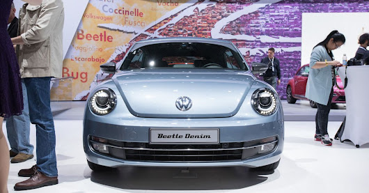 Volkswagen Beetle concept car gets the vintage jean treatment