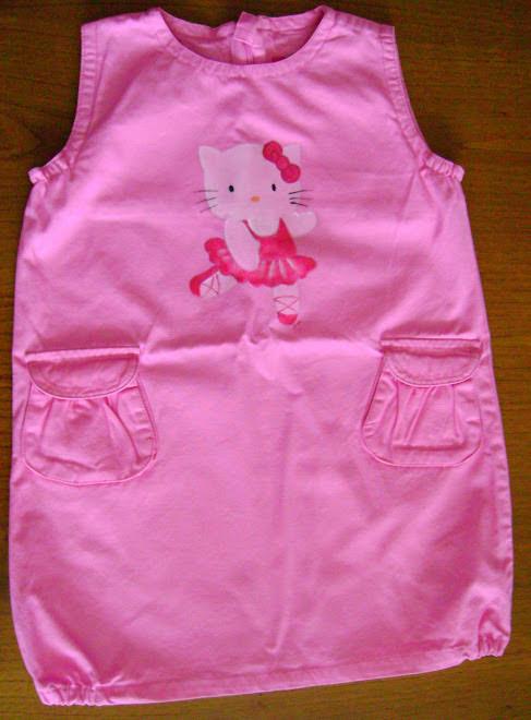 Vestido Rosa Hello Kitty