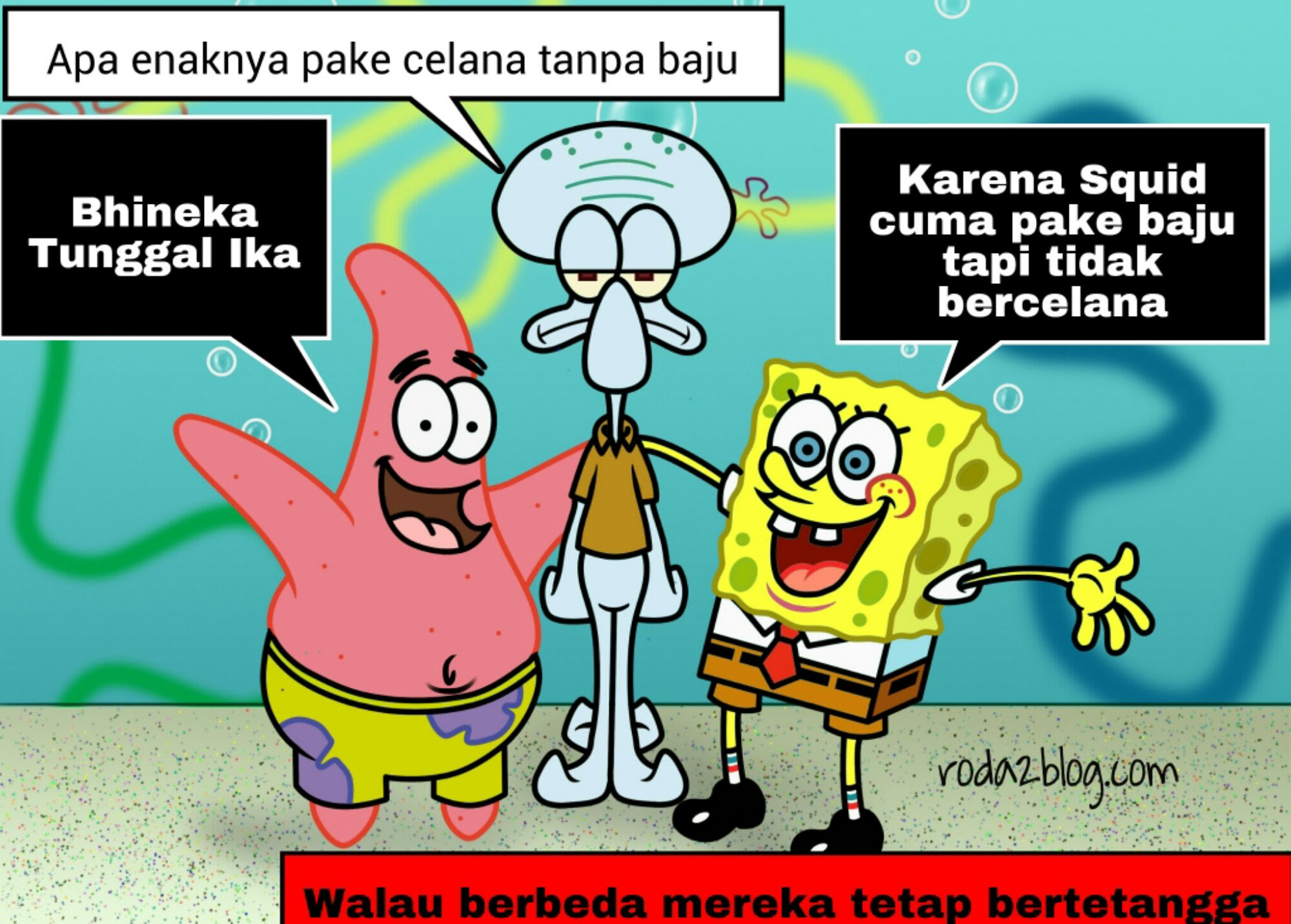 Gambar Kata Kata Lucu Spongebob Bahasa Sunda