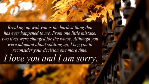 Sorry Love Quotes For Her Archidev