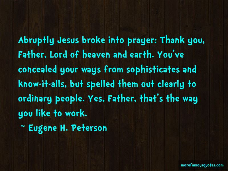 Thank You Lord Prayer Quotes Top 3 Quotes About Thank You Lord