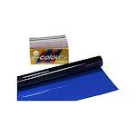 "Rosco E-Colour 141 Bright Blue Gel - 21 x 24"" Gel Sheet"