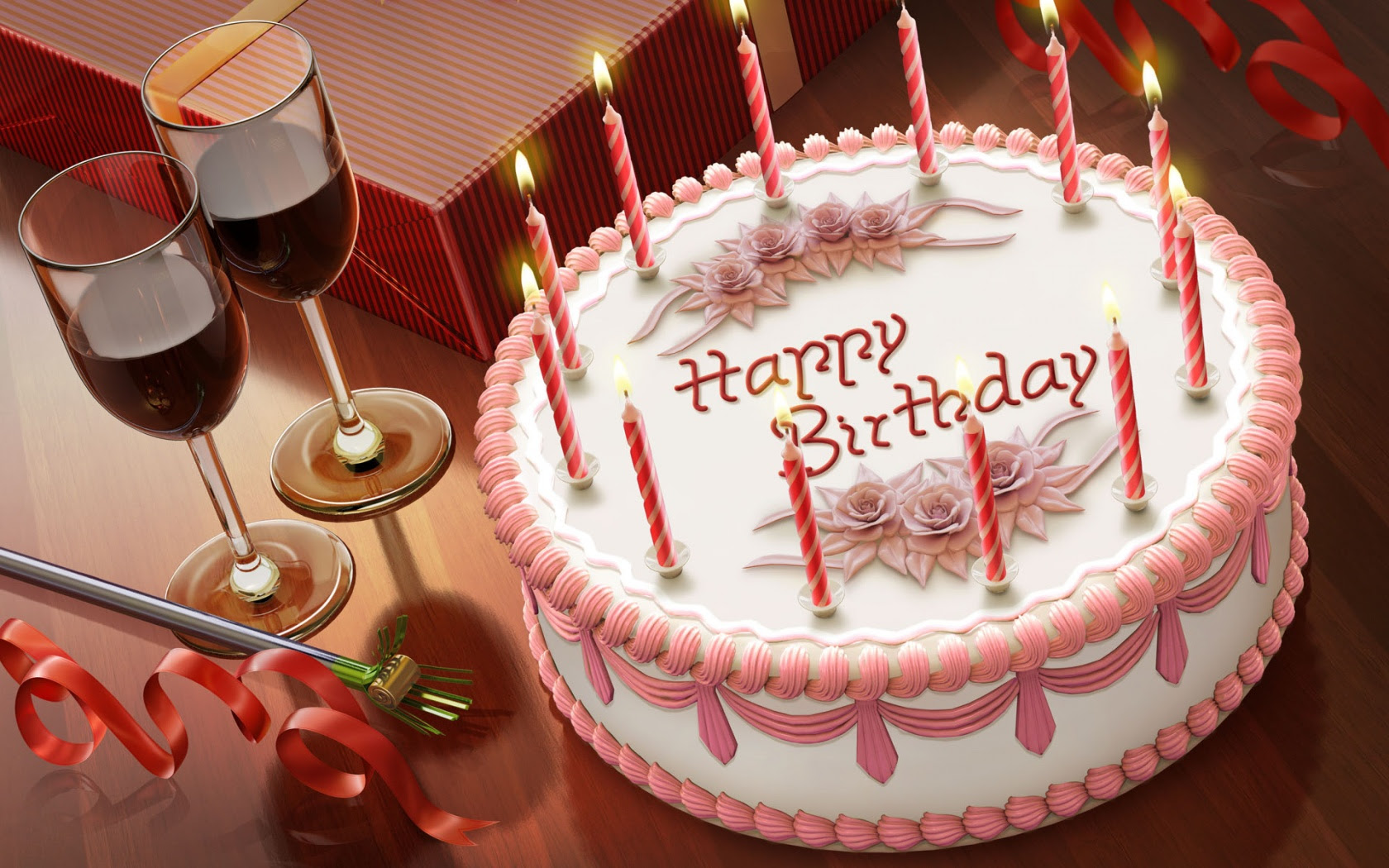 Free Happy Birthday Wallpaper 1680x1050 81112