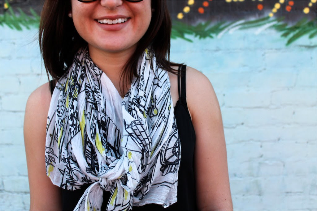 how-to-tie-a-printed-scarf