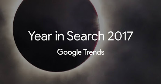 Explore the searches that shaped 2017, from Google Trends. #yearinsearch