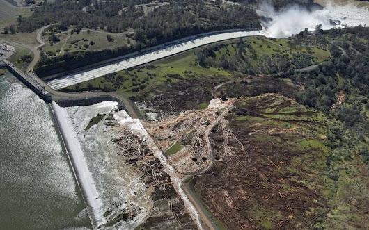 BREAKING: Fearing collapse of emergency spillway at Oroville Dam, Oroville evacuated