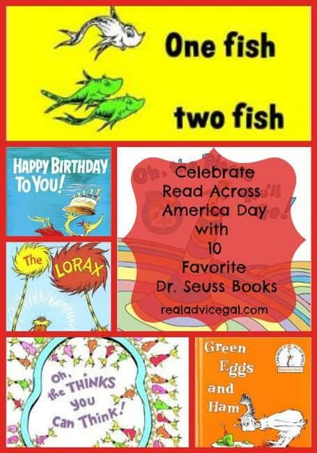 List of Dr Seuss Books: National Read Across America Day - Real Advice Gal