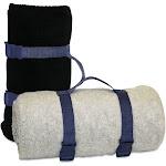 Alpine Fleece Blanket Strap 8820 - Navy Size One Size