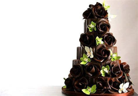 25 best images about Chocolate Wedding Cakes on Pinterest