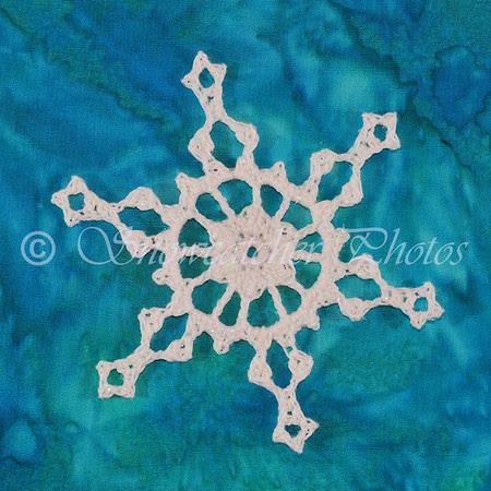 Ship's Wheel Snowflake