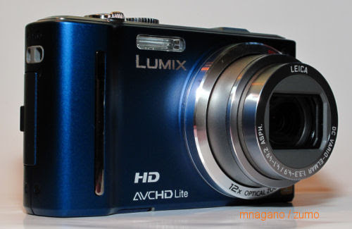 Panasonic's geotagging DMC-ZS7 superzoom compact gets handled