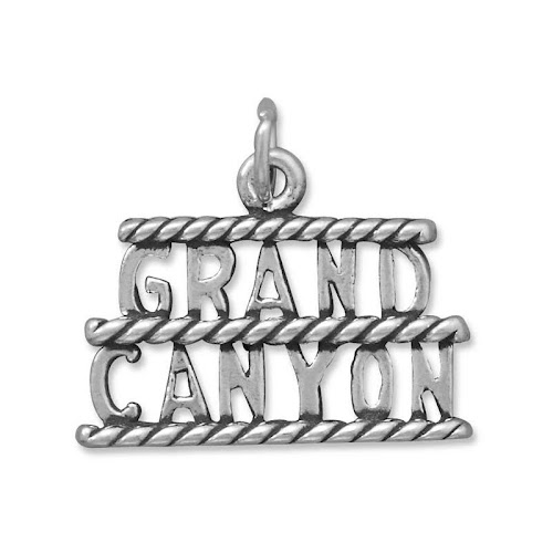 Grand Canyon Charm Sterling Silver