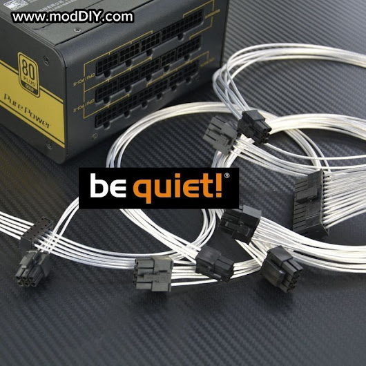 Professional Tailor-Made Be Quiet! Custom Sleeved Modular Cable Kit