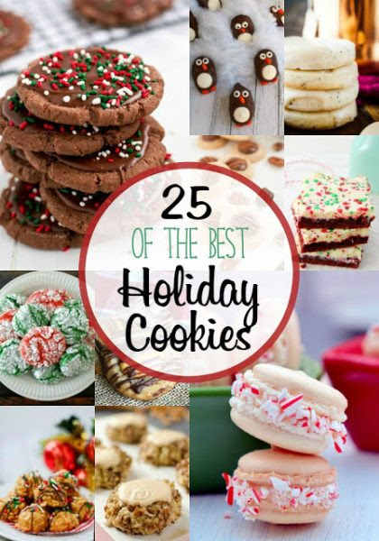 25 of the Best Holiday Cookies TEAM HERO-The Frugal Foodie Mama