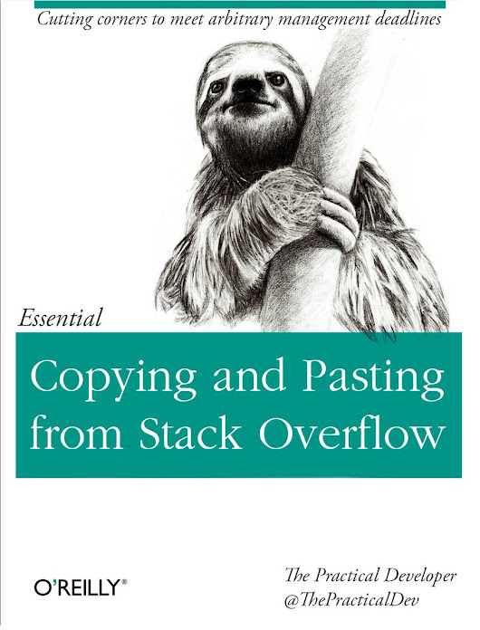 "Practical Developer on Twitter: ""The last programming book you'll ever need """