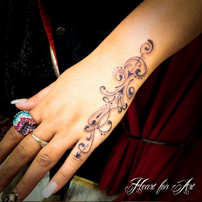 Line Work Tattoo Heart For Art Tattoo Shop Manchester Blog