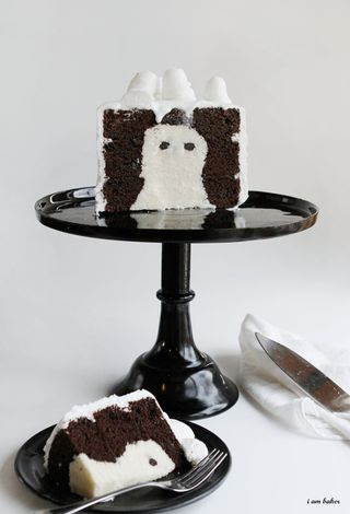 Ghost Cake by i am baker