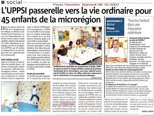 Directeur UPPSI Michel Piazza
