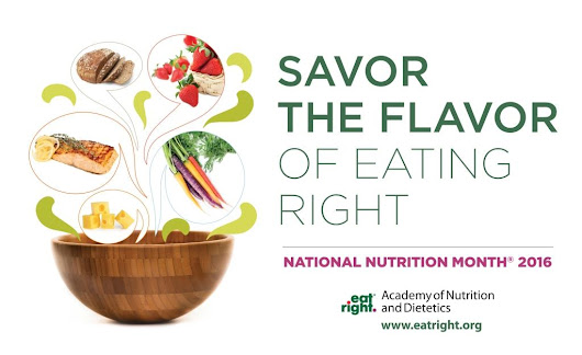 Its National Nutrition Month: Stop to Savor Your Food