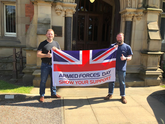True Creative – Flying the flag for Armed Forces Day
