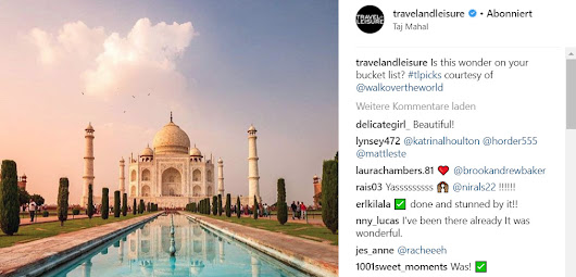 Featured by Travel + Leisure | Walk over the World